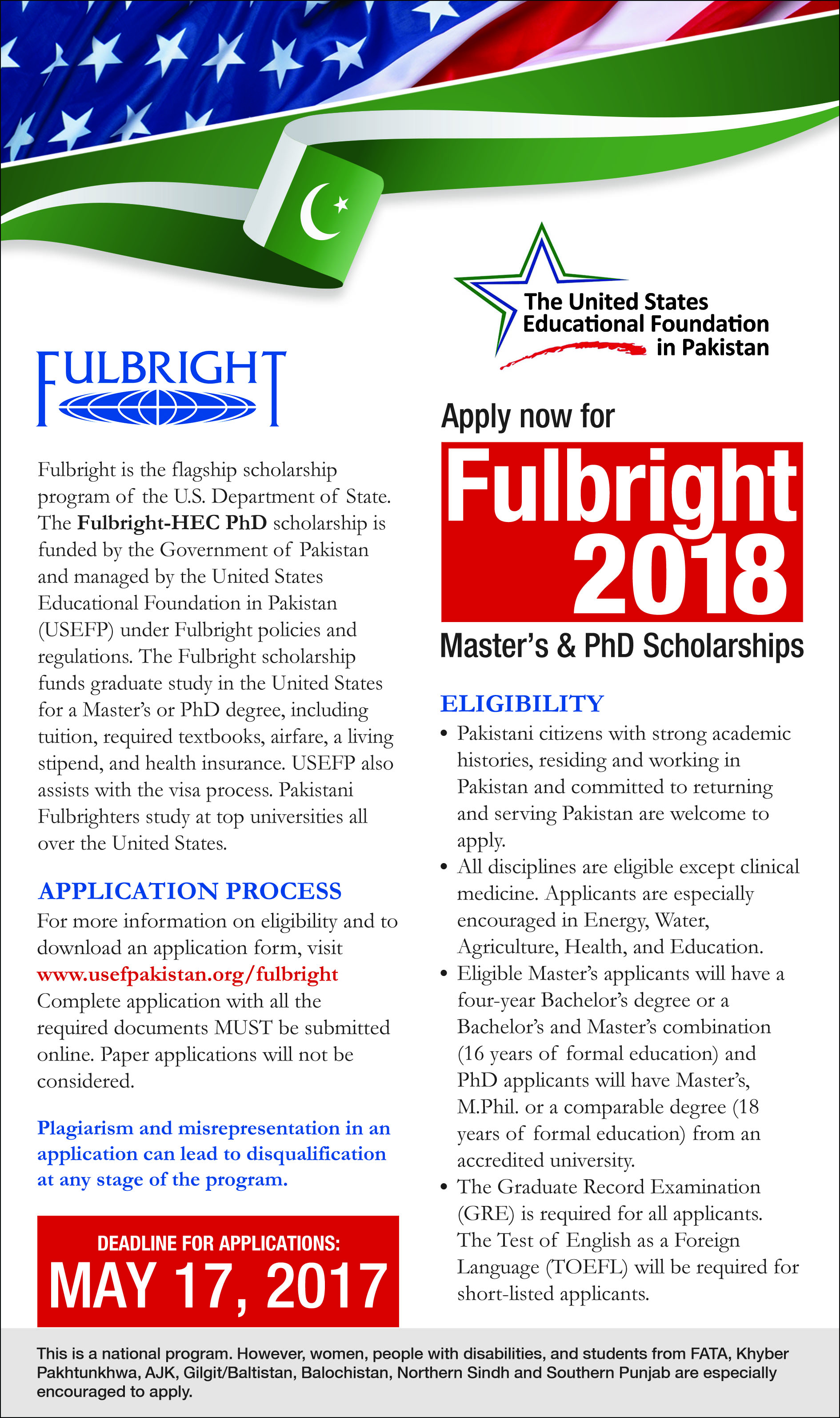 fulbright scholarship dissertation Program description provides fully funded grants for graduates of islamic studies from relevant faculties at al azhar university or the faculties of dar al ulum to pursue master's degrees, or phd degrees or to conduct research in islamic studies in the us grant types master's degree grants, for persons wishing to pursue a master's degree in the us.